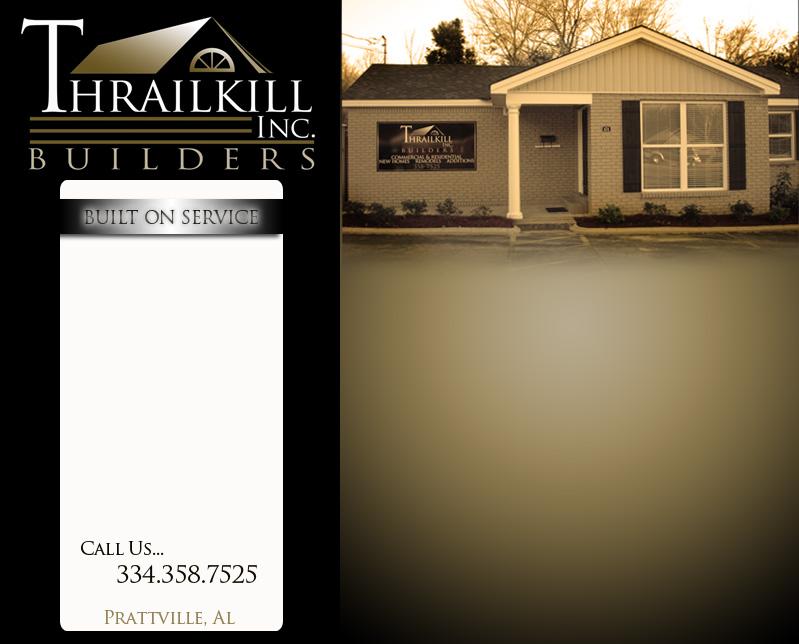 Thraillkill builders prattville al for Custom home designs prattville